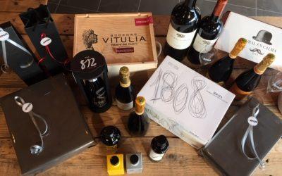 Eindejaarsgeschenken bij El Pozo : wij maken voor u graag het gepaste geschenk , van 1 tot 1000 pakjes, van 10 tot 100 euro, op maat van de klant.