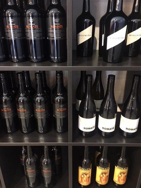 Porto en sherry
