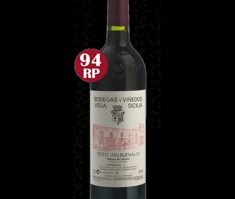 Icoon wijn Vega Sicilia : Valbuena 2013 : 4 kistjes van 3 flessen in voorraad. Voor wie zijn papa heel goed wil verwennen op vaderdag.