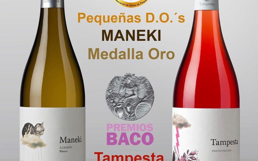 Maneki en Tampesta : twee gouden medailles : welkom bij El Pozo